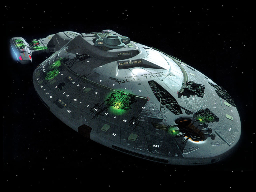 Voyager with Borg modifications